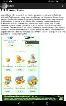 Guia y Trucos para Pokemon Go poster