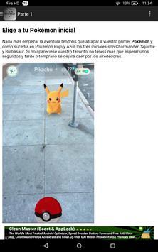 Guia y Trucos para Pokemon Go apk screenshot