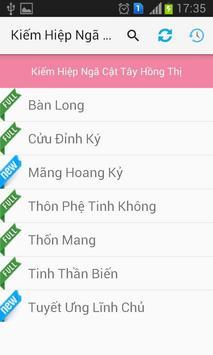 Kiếm Hiệp Ngã Cật Tây Hồng Thị apk screenshot