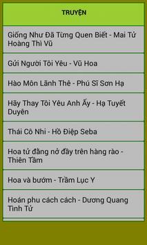 Truyện ngôn tình chọn lọc 7 apk screenshot