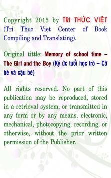 Memory of school time 2 apk screenshot