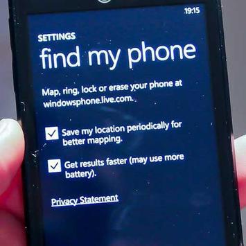Find Lost Phones apk screenshot