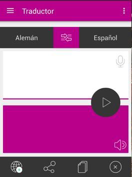 Traductor Alemán Español apk screenshot