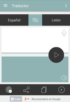 Traductor leton español apk screenshot