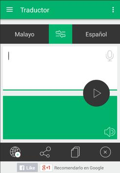Traductor Español Malayo apk screenshot