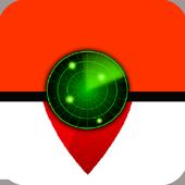 Poke Radar Maps For Pokemon go icon