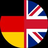 Übersetzen deutsch englisch icon