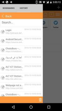 Trim Browser - Fast & Secure apk screenshot