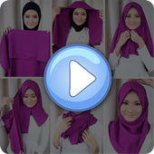 Tutorial Hijab Segi Empat icon