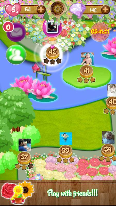 Blossom Garden Saga APK Download Free Puzzle GAME for Android