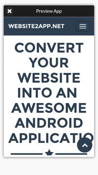 Website To Application apk screenshot