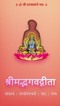 भगवद्गीता-तत्त्वविवेचानी poster
