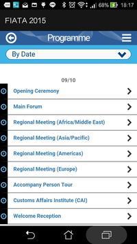 FIATA 2015 apk screenshot