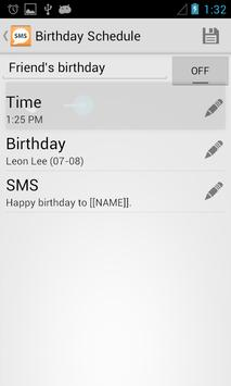 iSend SMS apk screenshot