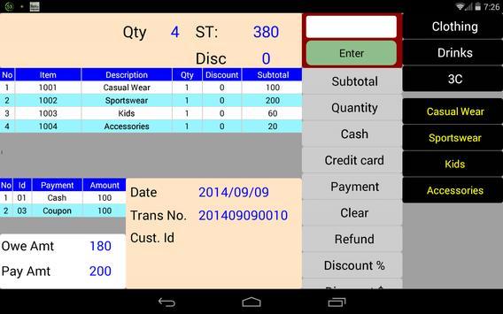 POS SHOP SALES & INVENTORY apk screenshot