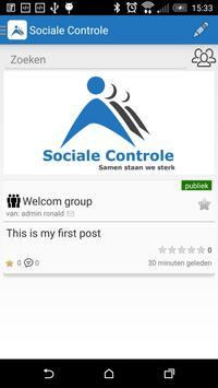 Sociale Controle apk screenshot