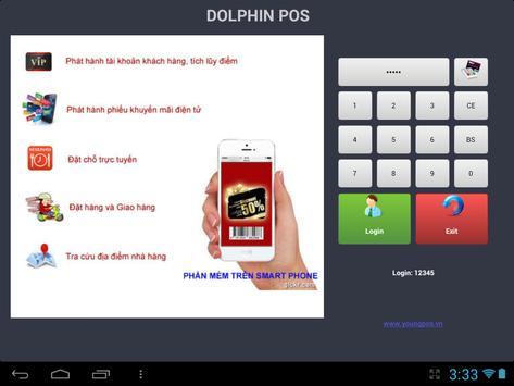 Restaurant Dolphin POS poster