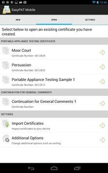 EasyPAT Mobile apk screenshot