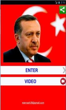 Recep Tayyip Erdogan poster