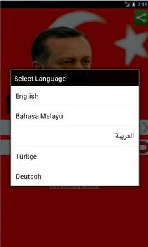 Recep Tayyip Erdogan apk screenshot