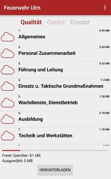 Feuerwehr Ulm apk screenshot