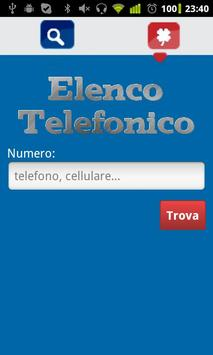 Elenco Telefonico free apk screenshot