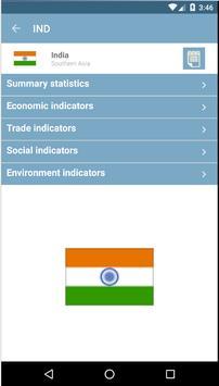 UN CountryStats apk screenshot