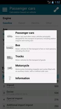 Vehicle customs calculation UA poster