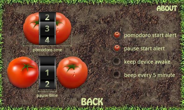 The Pomodoro Technique H. Free apk screenshot