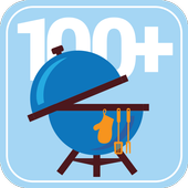 100+ Recipes BBQ icon