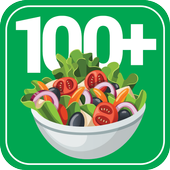 100+ Recipes Salads icon