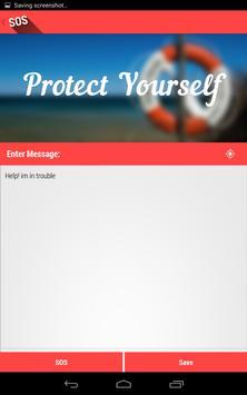 SOSMessage apk screenshot