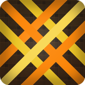 Baubles, direct wickerwork icon