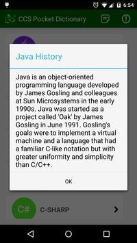 CCS Pocket Dictionary App apk screenshot