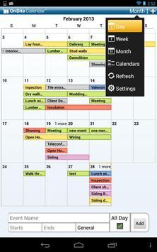 OnSite Calendars poster
