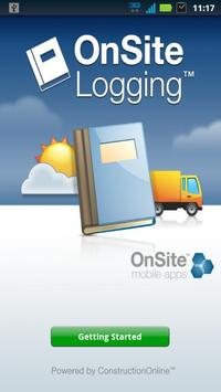 OnSite Logging poster