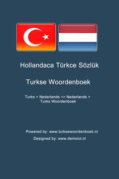 Dutch Turkish Dictionary poster