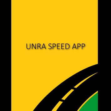 UNRA Speed App poster