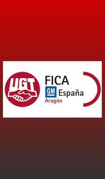 Ugt en General Motors España poster