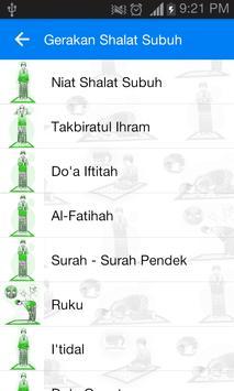 Tuntunan Shalat 5 Waktu apk screenshot