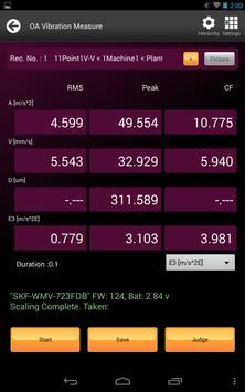 SKF Wireless MicroVibe apk screenshot