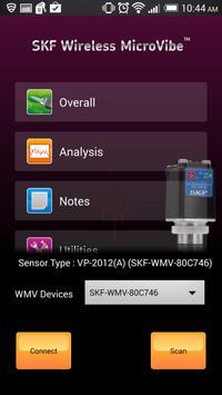 SKF Wireless MicroVibe poster