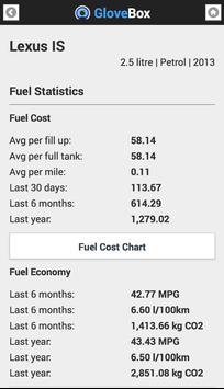 GloveBox - Car Fuel & Expenses apk screenshot