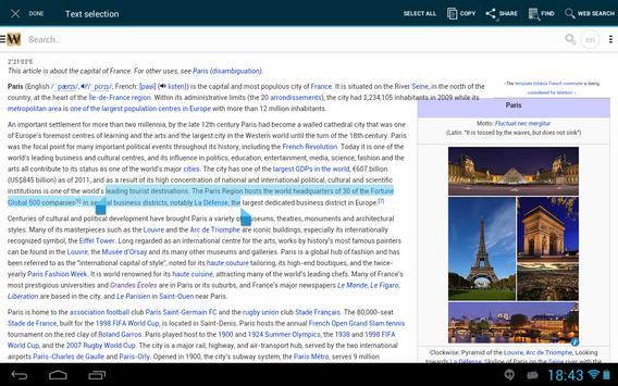 Wiki Encyclopedia Gold apk screenshot
