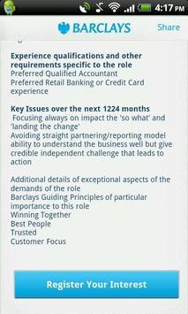 Barclays Jobs apk screenshot