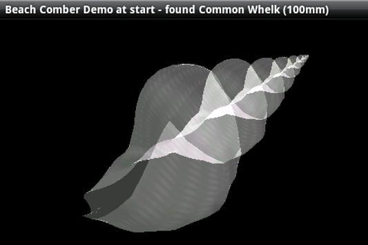 3D Virtual SeaShell Demo apk screenshot