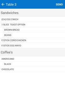 OrderPad apk screenshot