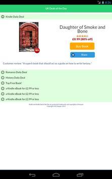 UK Kindle Daily Deal apk screenshot