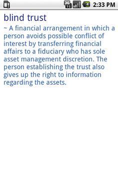 CPA Glossary Dictionary apk screenshot