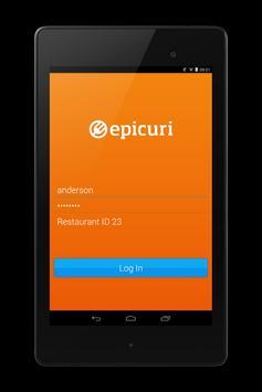 Epicuri Waiter apk screenshot